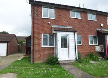 Thumbnail 1 bedroom end terrace house to rent in Gainsborough Drive, Halesworth