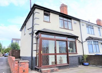 Thumbnail 3 bed end terrace house to rent in Moat Road, Tipton, West Midlands