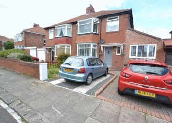 Thumbnail 3 bed semi-detached house for sale in Heathdale Gardens, High Heaton, Newcastle Upon Tyne