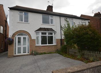 Thumbnail 3 bedroom semi-detached house to rent in Cambridge Road, West Bridgford, Nottingham