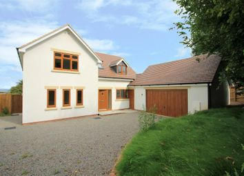 Thumbnail 4 bedroom detached house for sale in Llangrove, Ross-On-Wye