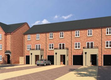 "Thumbnail 3 bed semi-detached house for sale in ""The Wilton"" at Norwich Road, Wymondham"