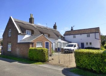 Thumbnail 3 bed detached house for sale in Mill Road, Hemsby, Great Yarmouth