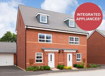 """Thumbnail 4 bed semi-detached house for sale in """"Kingsville"""" at Mount Street, Barrowby Road, Grantham"""