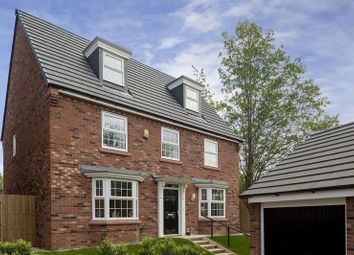 Thumbnail 5 bed detached house for sale in The Emerson At Stapeley Gardens, Nantwich