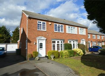 Thumbnail 3 bed semi-detached house for sale in Chailey Place, Hersham, Surrey