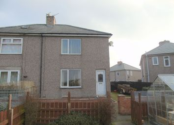 Thumbnail 2 bed semi-detached house for sale in William Street, Pegswood, Morpeth