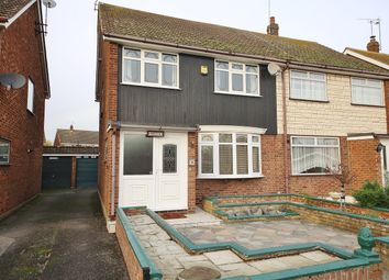 Thumbnail 3 bed semi-detached house for sale in Balstonia Drive, Corringham, Stanford-Le-Hope