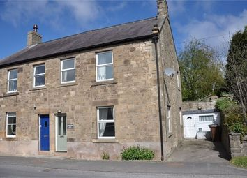 Thumbnail 3 bed semi-detached house for sale in Tyne View East, Fourstones, Northumberland.