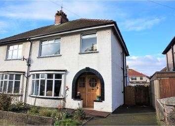 Thumbnail 3 bed semi-detached house for sale in Thornton Road, Morecambe