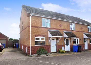 Thumbnail 2 bedroom end terrace house for sale in Heather Way, Worlingham, Beccles