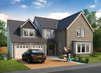 Thumbnail 5 bed detached house for sale in The Grange, Blackiemuir Avenue, Laurencekirk, Aberdeenshire