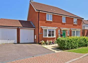 Thumbnail 3 bed semi-detached house for sale in Antelope Close, Dover, Kent