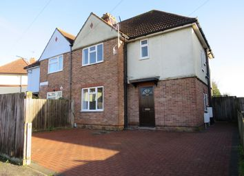 Thumbnail Semi-detached house to rent in Shakespeare Road, Ipswich