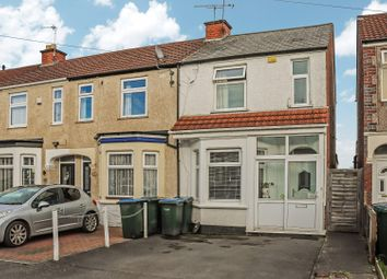 Thumbnail 2 bed end terrace house for sale in Stevenson Road, Coventry