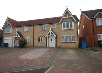 Thumbnail 3 bed semi-detached house for sale in Beech Court, Widdrington, Morpeth