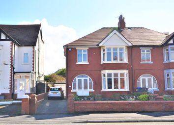 Thumbnail 4 bed semi-detached house for sale in Warbreck Hill Road, Bispham, Blackpool, Lancashire
