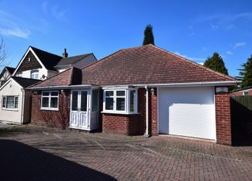 Thumbnail 2 bed detached bungalow for sale in Dosthill Road, Tamworth