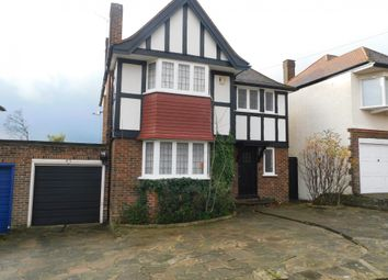 Thumbnail 3 bed detached house to rent in Barn Rise, Wembley, Middlesex