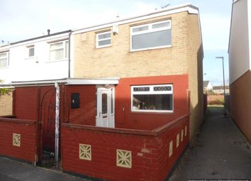 Thumbnail 3 bed end terrace house for sale in Saddleworth Close, Bransholme, Hull