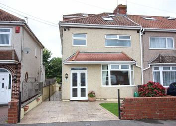 Thumbnail 4 bed end terrace house for sale in Middle Road, Kingswood, Bristol