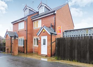Thumbnail 3 bed terraced house to rent in Jubilee Mews, Bedlington