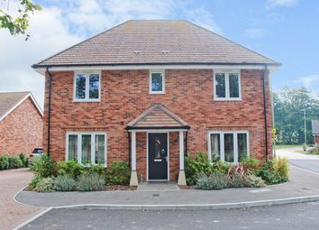 Thumbnail 4 bed detached house for sale in Arnwood Drive, Bransgore, Christchurch