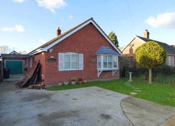 Thumbnail 2 bed detached bungalow for sale in Station Road, Aslacton, Norwich