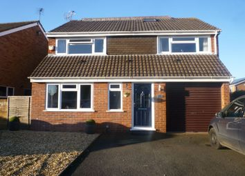 Thumbnail 5 bed detached house for sale in Oakfield Road, Shifnal