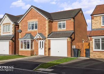 Thumbnail 4 bed detached house for sale in Alnmouth Avenue, Ashington, Northumberland
