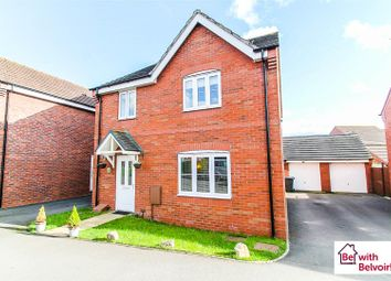 Thumbnail 4 bed detached house for sale in Rowan Close, Cannock