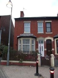 3 bed end terrace house to rent in Oxford Road, Blackpool, Lancashire FY1