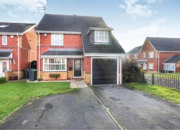 Thumbnail 4 bed detached house for sale in Mansion Drive, Tipton