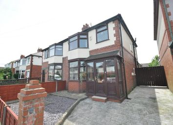Thumbnail 3 bedroom semi-detached house for sale in Whitemoss Avenue, Blackpool, Lancashire