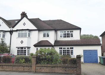 Thumbnail 5 bed semi-detached house for sale in Pinner Road, Oxhey Village, Watford