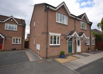 Thumbnail 2 bed semi-detached house for sale in Darwin Close, Stone