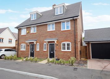 3 bed semi-detached house for sale in Maynard Drive, Hook RG27