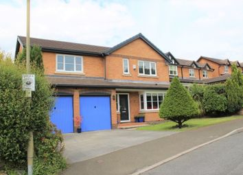 Thumbnail 4 bed detached house for sale in Malvern Rise, Hadfield, Glossop
