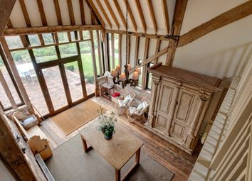 Thumbnail 5 bedroom barn conversion for sale in High Street, Thelnetham, Diss
