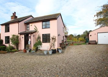 Thumbnail 4 bed country house for sale in The Green, Flowton, Ipswich, Suffolk