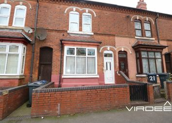 Thumbnail 3 bed terraced house for sale in Mostyn Road, Handsworth, West Midlands