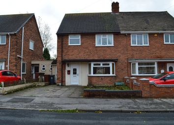 Thumbnail 3 bedroom semi-detached house for sale in Wingate Road, Walsall