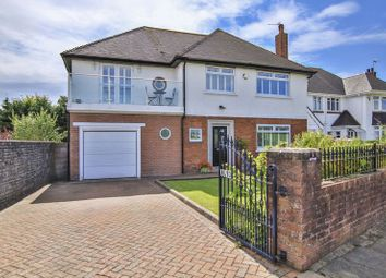 Thumbnail 4 bedroom detached house for sale in Channel View, Penarth, Vale Of Glamorgan