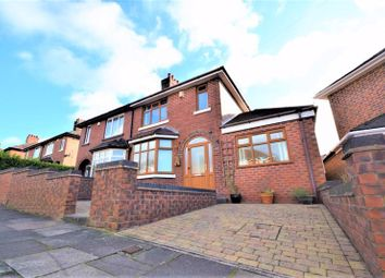 Thumbnail 3 bed semi-detached house for sale in Shaftesbury Avenue, Burslem, Stoke-On-Trent