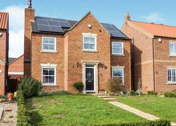 Thumbnail 4 bedroom detached house for sale in North Street, Middle Rasen