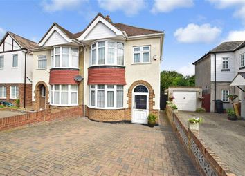 Thumbnail 3 bed semi-detached house for sale in King Arthurs Drive, Strood, Rochester, Kent