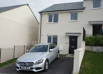 Thumbnail 3 bed semi-detached house to rent in Hendrawna Meadows, Perranporth