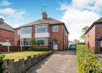 Thumbnail 3 bed semi-detached house for sale in Ashbourne Road, Uttoxeter