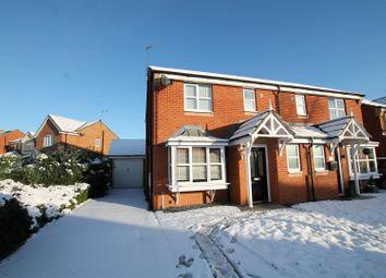 Thumbnail 3 bed semi-detached house for sale in Lewthwaite Gardens, Willington, Crook