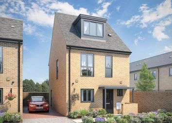 Thumbnail 3 bed town house for sale in The Lawrie At Atelier, Keaton Way, Off Commonside Road, Harlow, Essex